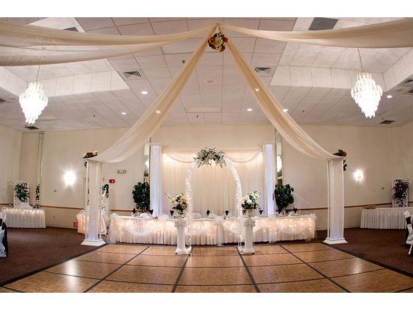 Decoracion de bodas con telas parte 3 - Adornos para salon ...