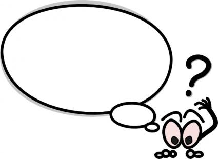 Question Clip Art Black And White Question Clip Art