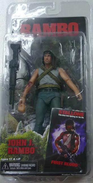 NECA Rambo Figure