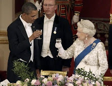 The Queen Honors Obama