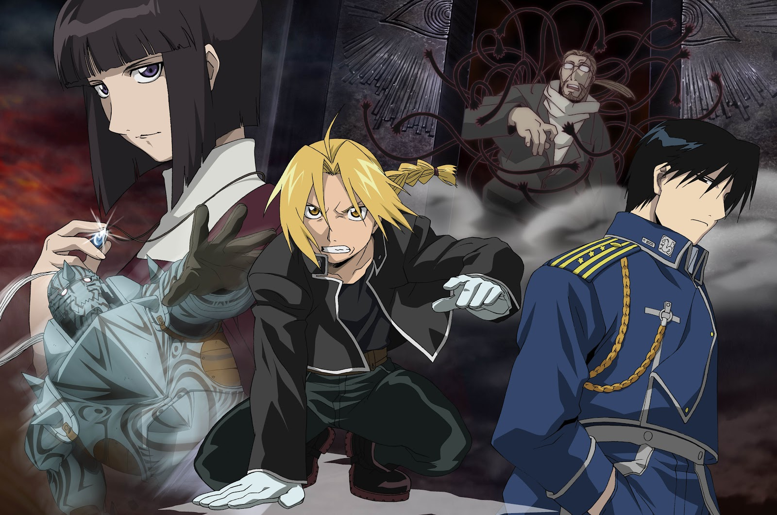 Full Metal Alchemist HD & Widescreen Wallpaper 0.399004488180751