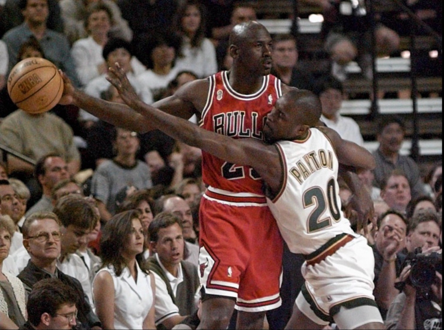 DAR Sports 1996 NBA Finals Chicago Bulls vs Seattle Supersonics