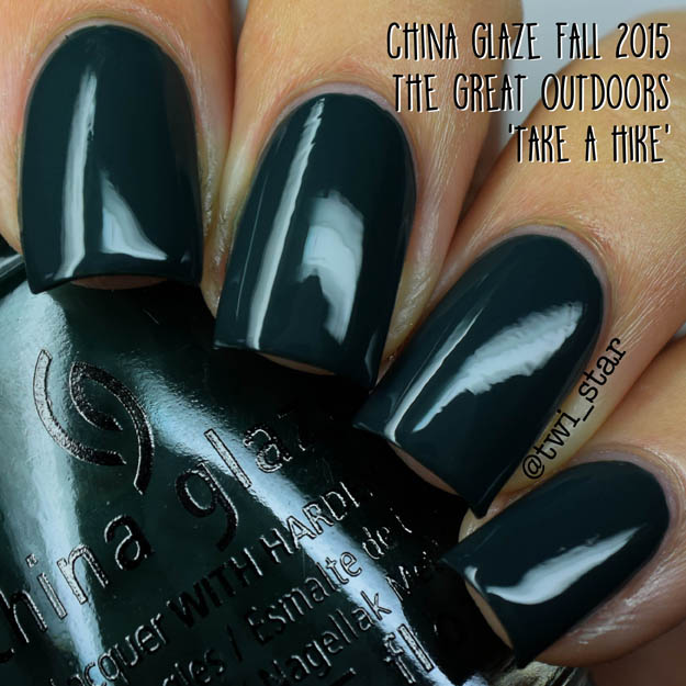 China Glaze The Great Outdoors Fall 2015 Take A Hike