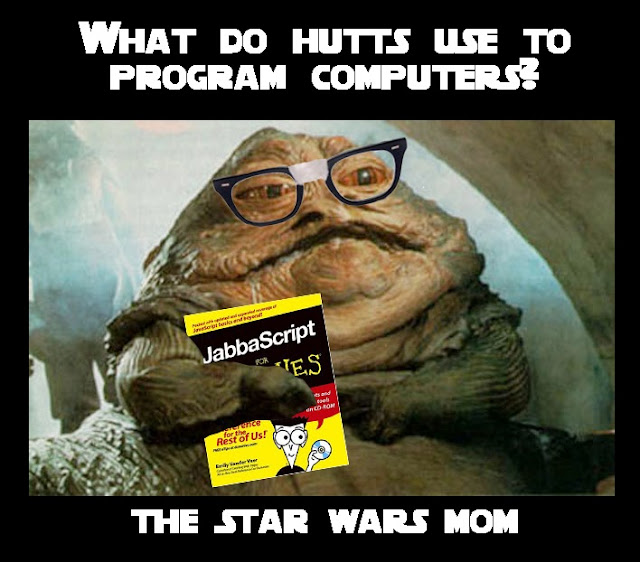 Star Wars Hutts Program Computers Jabbascript