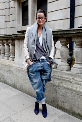 Boyfriend jeans for short(er) people : femalefashionadvice