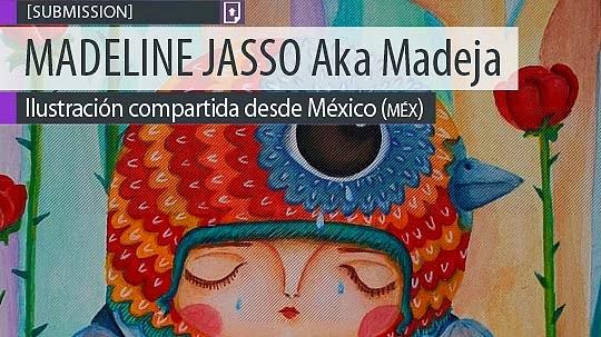 Ilustración, El ruiseñor y la rosa de MADELINE JASSO Aka Madeja