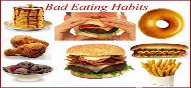 bad habits to eat,bad eating habits