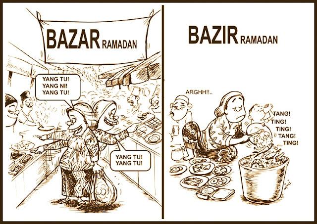 Ganjaran, Rezeki & Dugaan di Bulan Ramadan