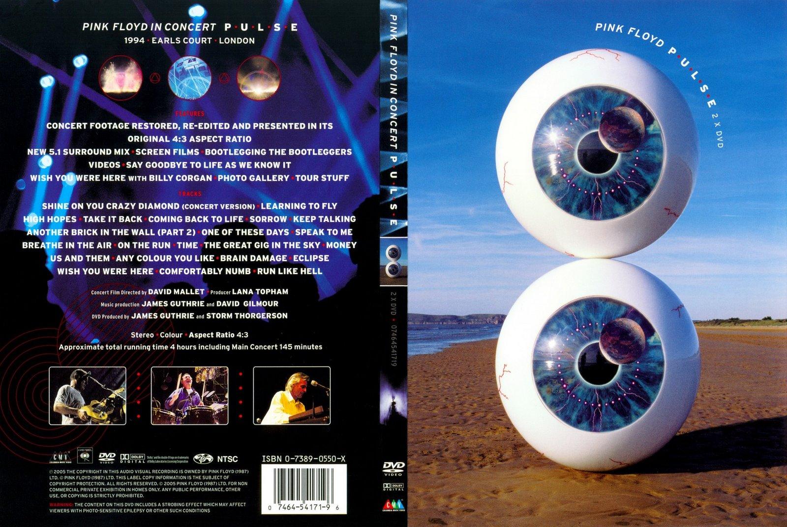 Capas Medina - Somente Capas de DVD: Pink Floyd - Pulse