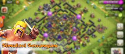 Trik Simulasi coc, Training Serangan di CoC, Xmodgames hack gem, Sandbox Attack coc, attack training di Clash of Clans, menguji serangan, Trik Simulasi Serangan di CoC, Clash of Clans, simulasi serangan COC.