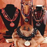 Design Your Own Personalized Beaded Necklace and Earring Sets