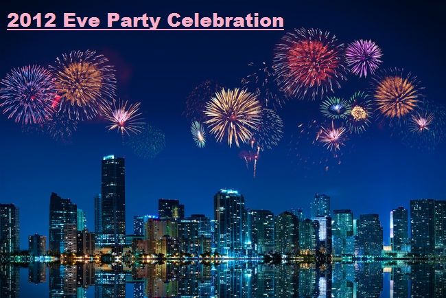 2012 Happy New Year Eve Party Invitations Celebration Wallpaper