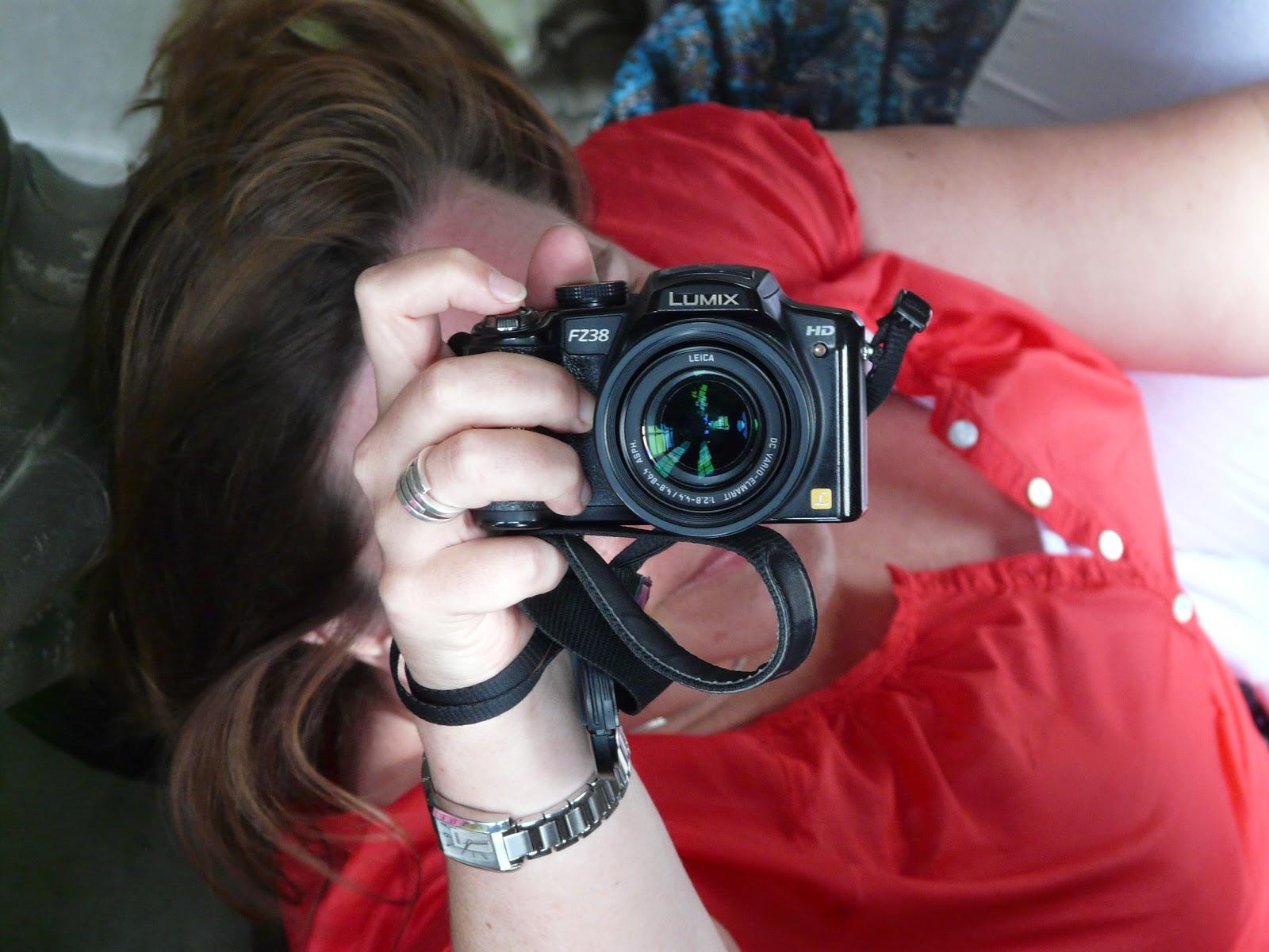 Fotografin bei der Arbeit | Ala's Kunterbunt