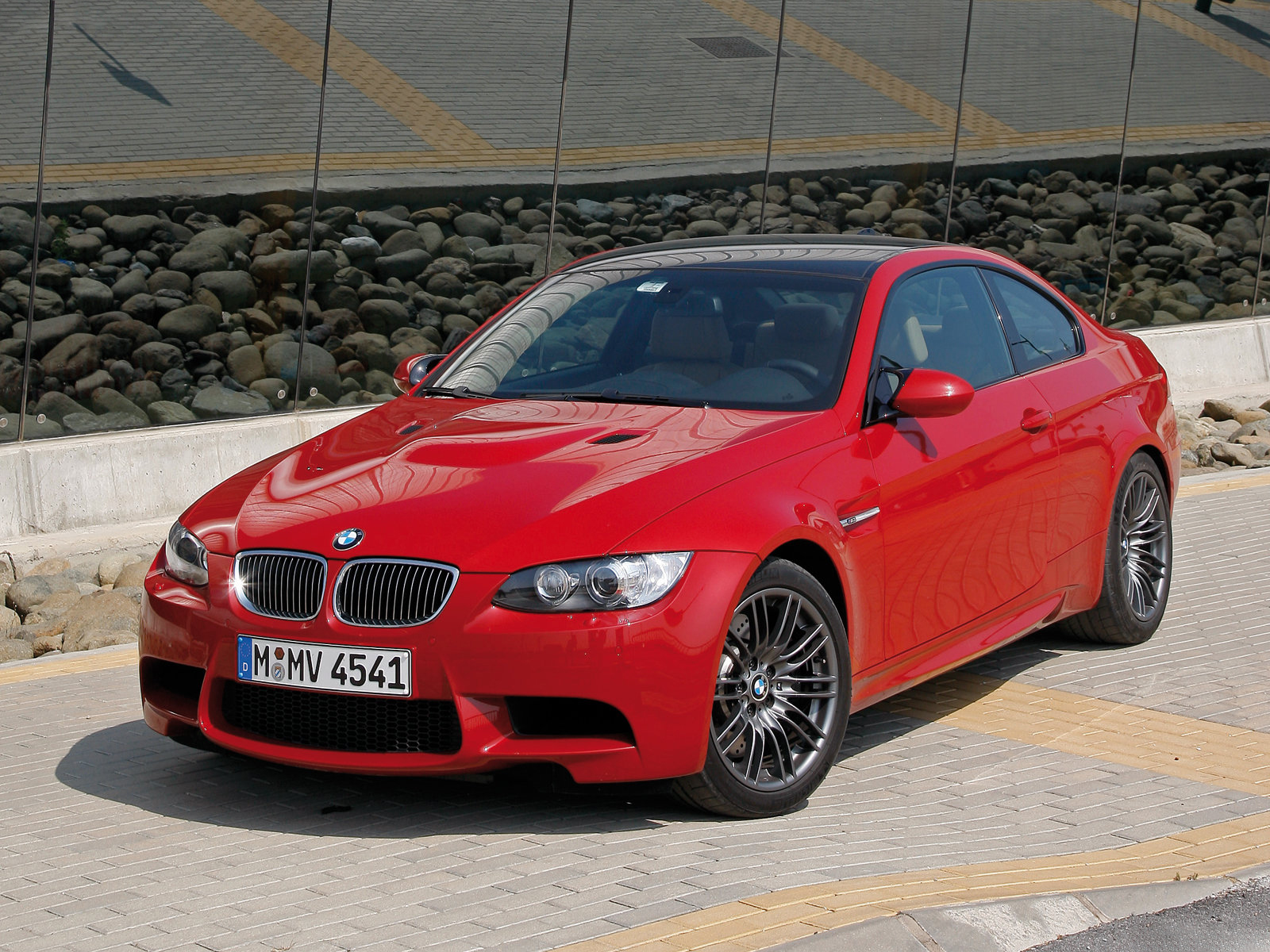 2008 bmw m3 coup front view