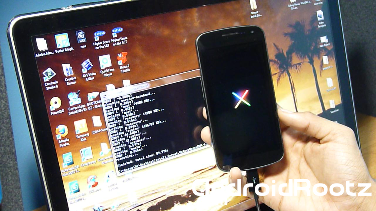 How to Unroot/Install Stock 4.2 Jelly Bean for Galaxy Nexus GSM on