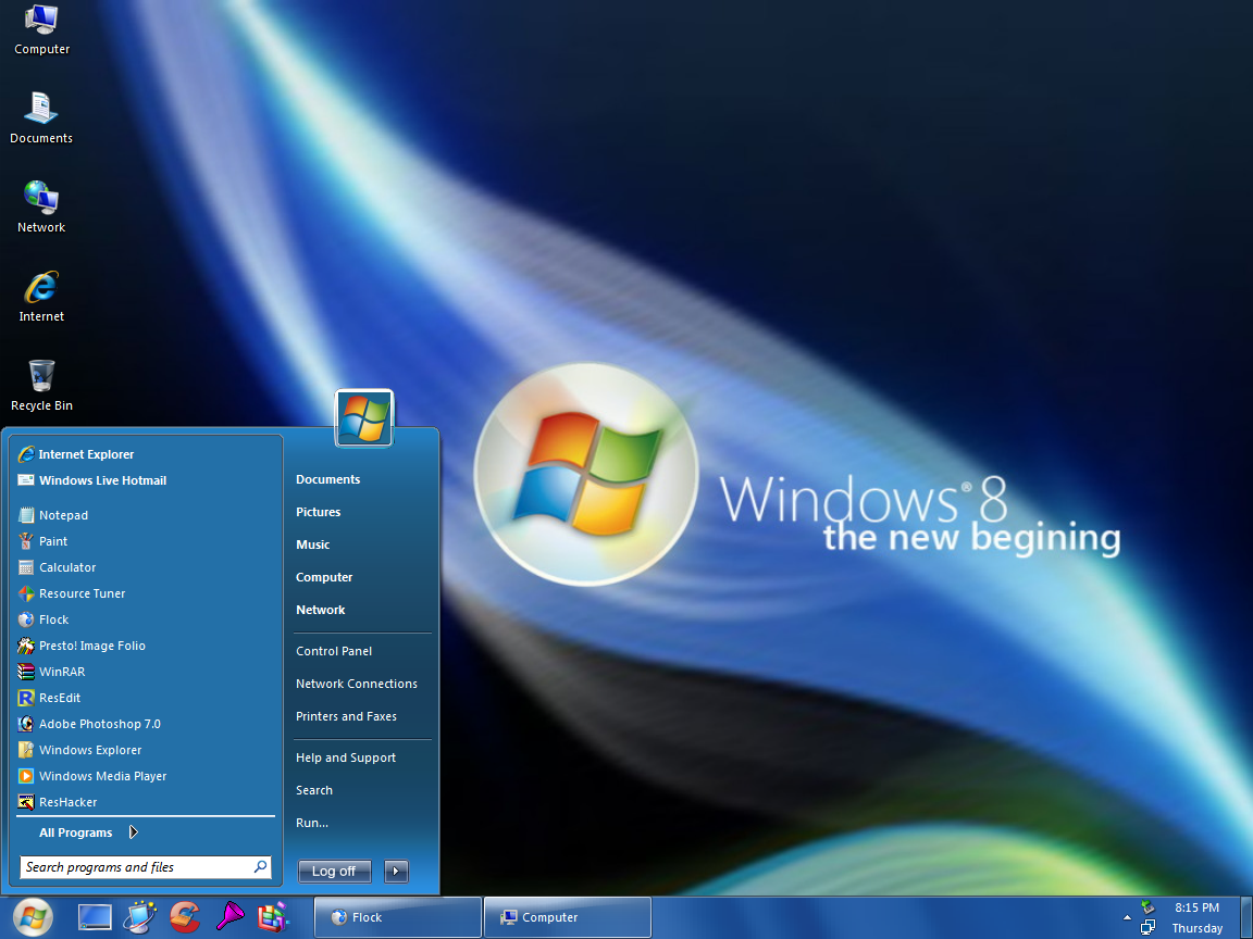 Get The Things For Free: Microsoft WINDOWS 8 Wallpapers and Features