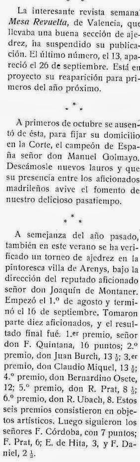 Recorte revista Stadium nº 131 - 27 Noviembre de 1915