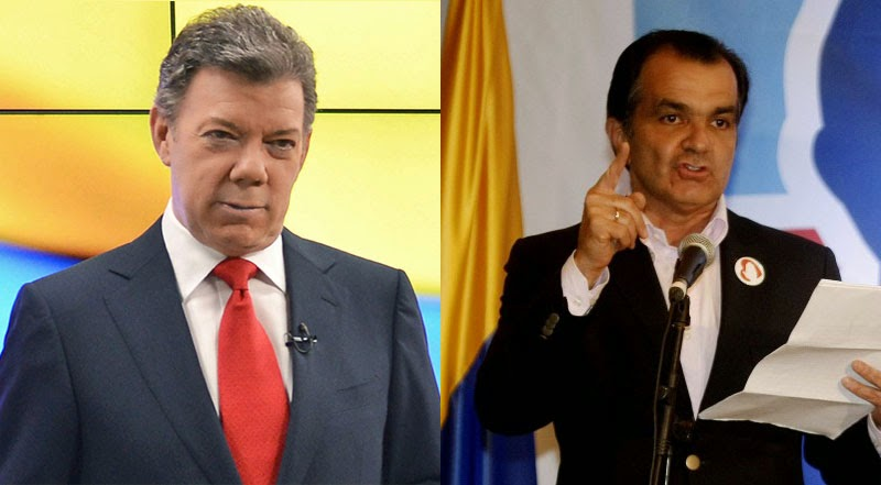 Colombia's presidential election 2014: A shoot-out between Santos and Zuluaga?