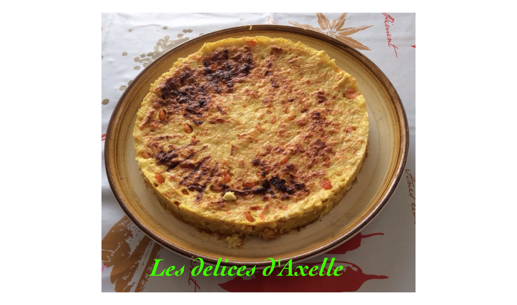 les d 233 lices d axelle quiche sans p 226 te au curry et aux fruits de mer