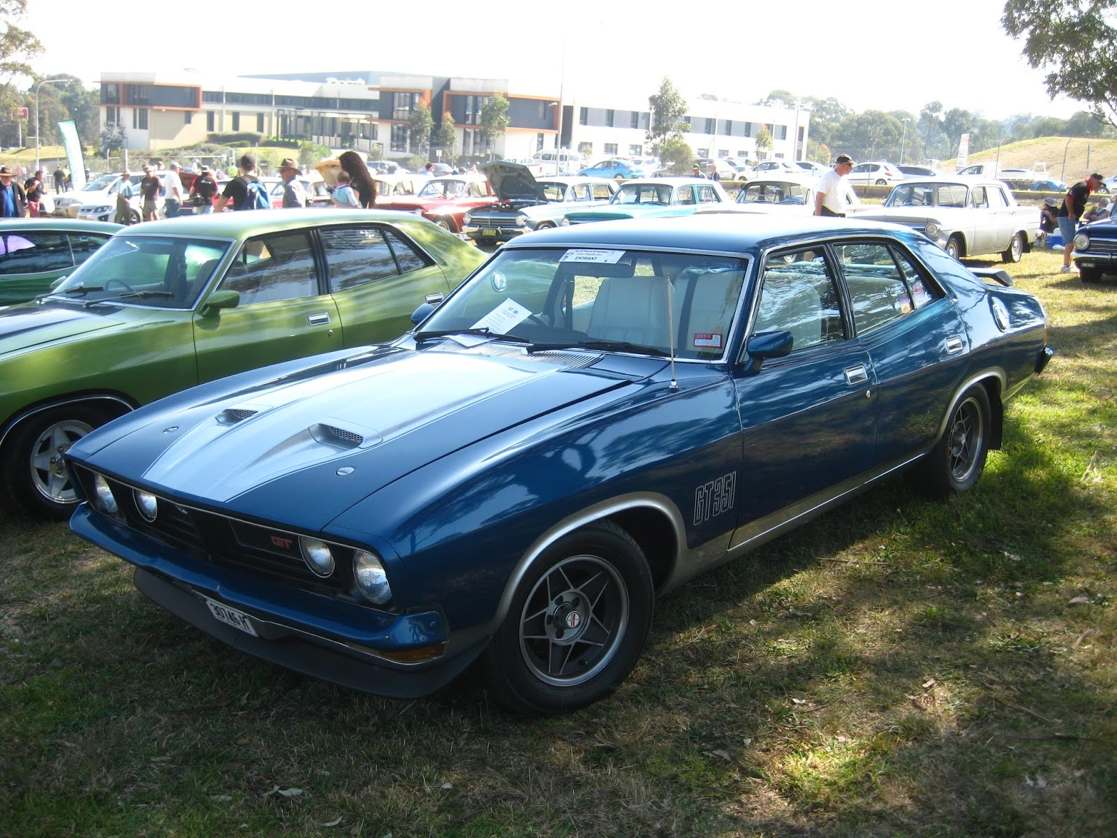 Aussie Old Parked Cars  1973 Ford XB Falcon GT Sedan