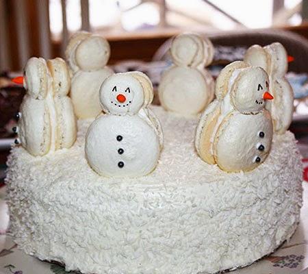 Торта Снежен човек