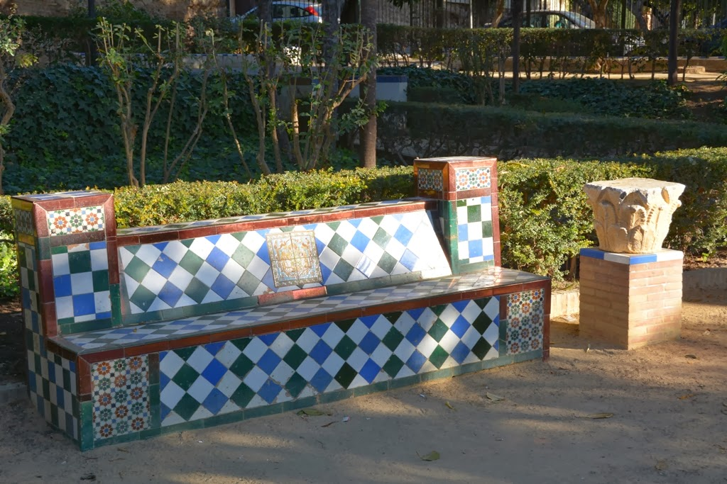 Murillo Garden Sevilla bench
