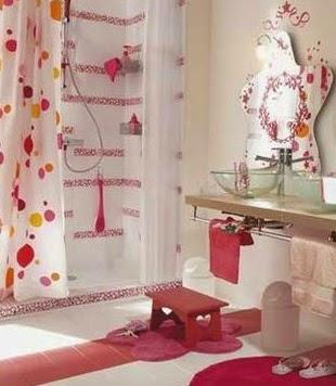 decoracion interiores bebes: organizar y decorar un baño infantil - Organizador De Juguetes Para Bano