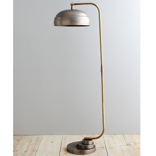 GARNET HILL STEAMER  FLOOR LAMP