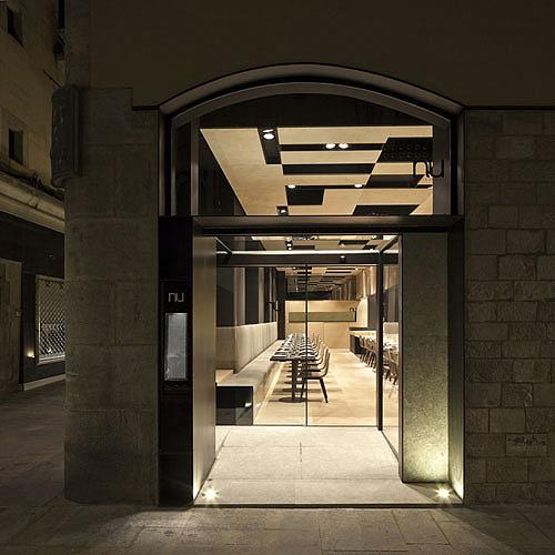 Francesc rif viste de piedra natural el restaurante nu de pere massana - Restaurante 7 puertas barcelona ...