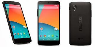 Spesisikasi dan Harga LG Nexus 5