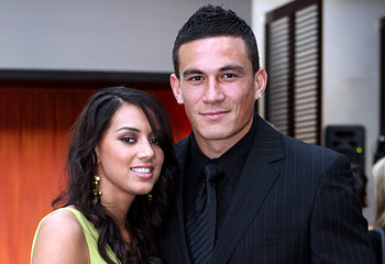 Sonny Bill Williams Rugby Player With His Girlfriend | All ...