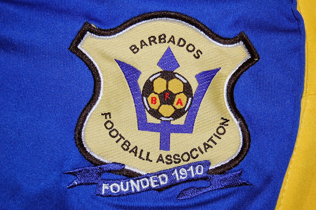 Barbados football shirt