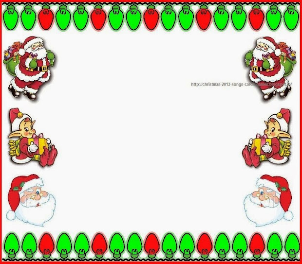 christmas clip art borders 2015