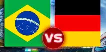 Perkiraan Hasil Akhir Semi-Final Piala Dunia 2014 : Brasil vs Jerman