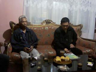 pertemuan kelompok pokdakan tolutug mandiri dengan para penyuluh ( ppl )dari bp4k dan dinas perikanan kota kotamobagu