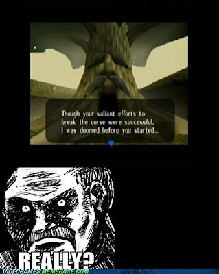 trolling deku tree Morning LOL   Scumbag Troll Deku Tree