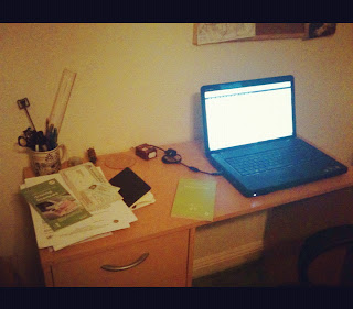 sangu mandanna writer's desk