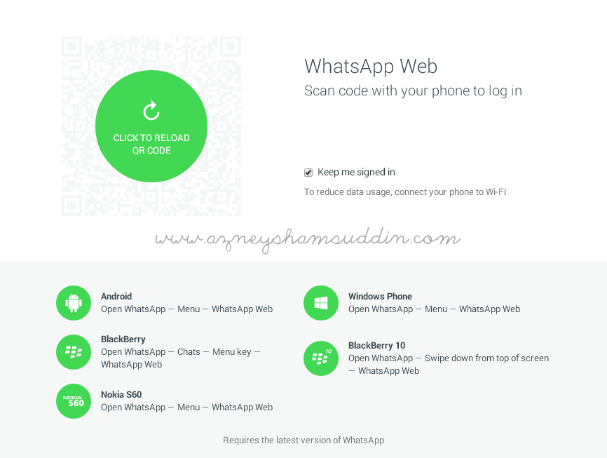 Whatsapp untuk Pc Desktop