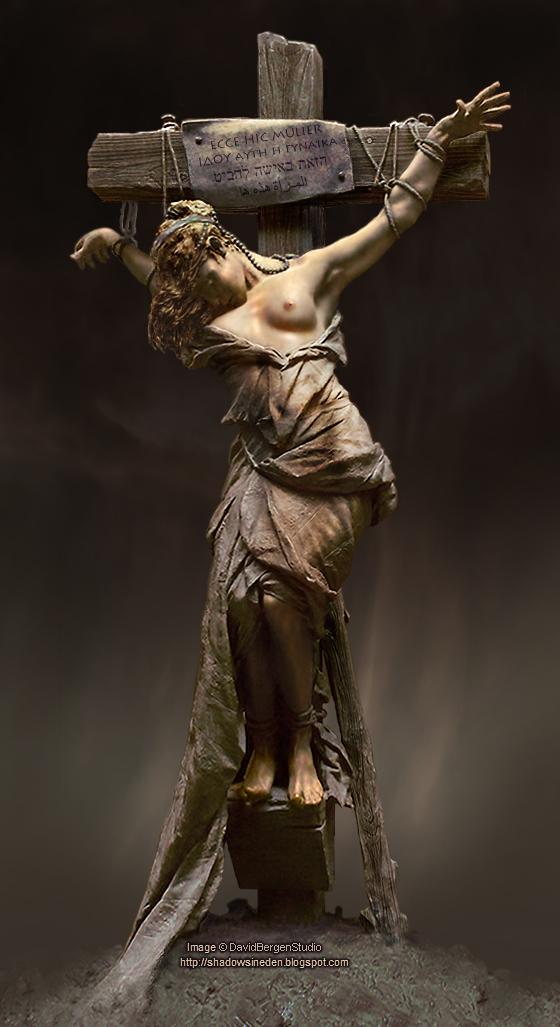 Female crucifixion roman good MILF