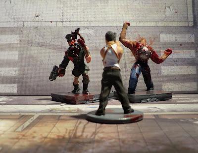Zombicide Zombie Enforcer Abomination Berserker Toxic Painted Kickstarter