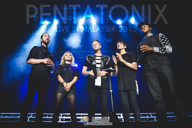 Pentatonix Live In Malaysia 2015: Serenaded Like Angels