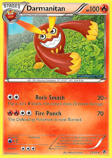 Darmanitan Emerging Powers Set Pokemon Card