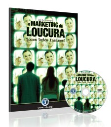 Brinde Gratis Dvd Marketing Da Loucura: Somos Todos Insanos?