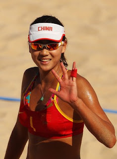 Xue Chen Sexy Volleyball Player