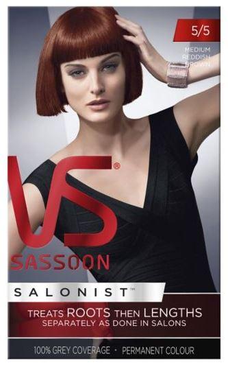 Vidal Sassoon Salonist For Salon Quality Hair Colour At Home