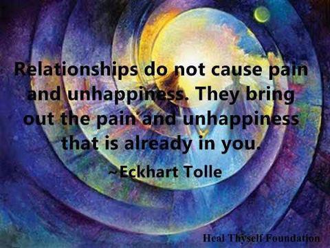 Eckhart Tolle sobre las relaciones