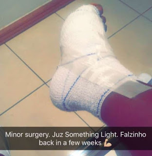 Falz after minor surgery