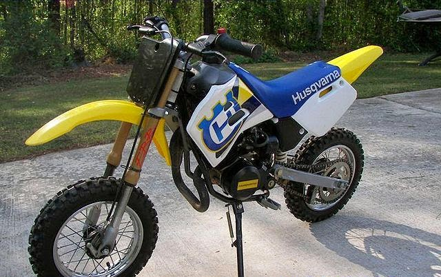 Husqvarna CR50 Dirt Mini Old Bikes