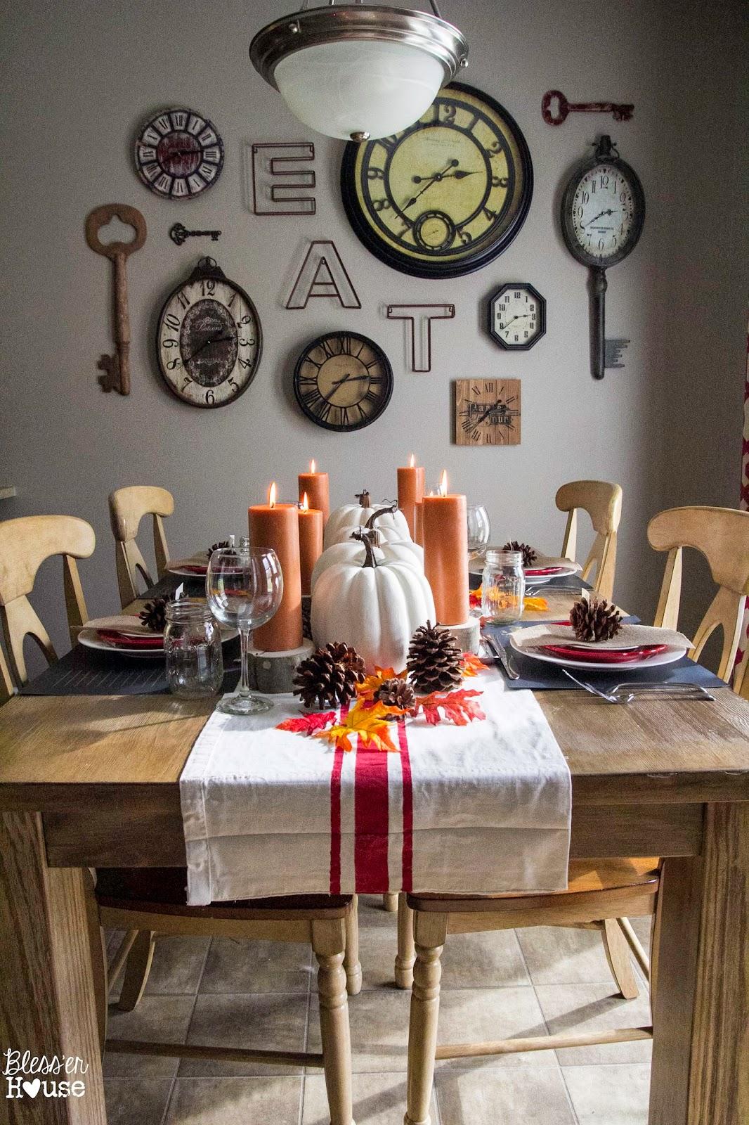 Bless'er House | Dollar Store Thanksgiving Tablescape