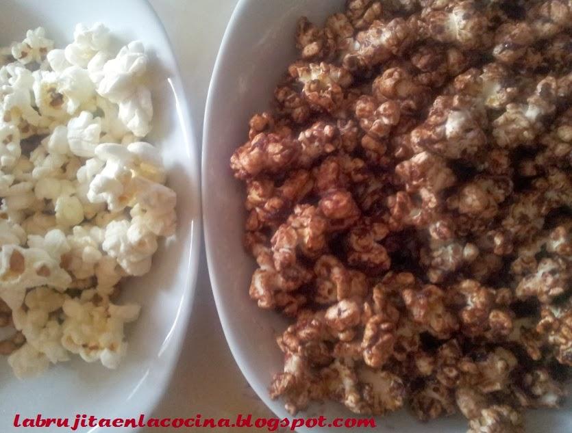 La brujita en la cocina: Palomitas de cacao